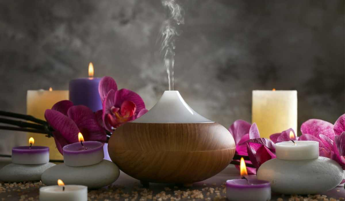 What does a essential oil diffuser do?